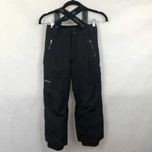 Marmot Youth Black Snow Pants 6/7